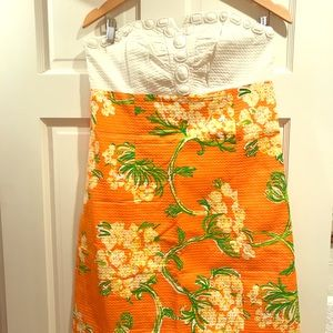 NWT Lilly Pulitzer strapless dress size 8